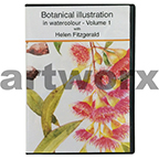 Botanical Illustration in Watercolour Volume 1 with Helen Fitzgerald DVD