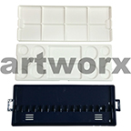 Watercolour Plastic Palette & Blue Tray