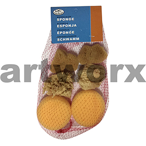 Watercolour Sponge 6pc Set Art Sponges