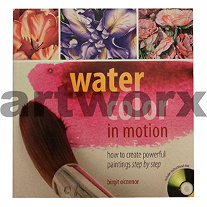 Watercolour In Motion Book with DVD by Birgit O'Connor
