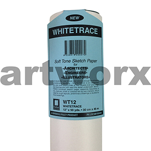 """12x50"""" Whitetrace White Engineers Tracing Paper"""