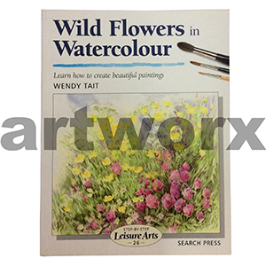 Wild Flowers in Watercolour Book by Wendy Tait