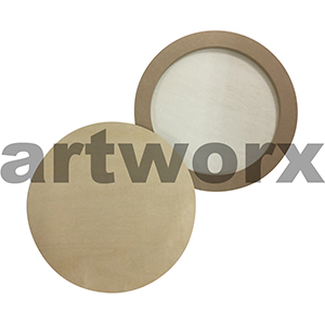 Wooden Circle Round Board 40cm