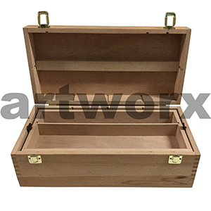 Deep Sketch Box made from Beech Wood