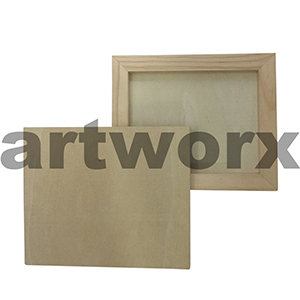 Wooden Rectangle Board 25 x 30cm