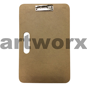 "13x17"" Wooden Sketch Board with Clip"