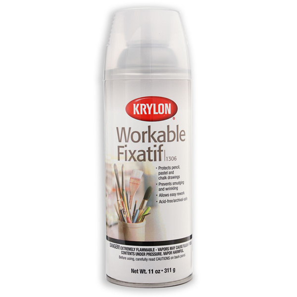 Workable Fixatif 311g Krylon Spray