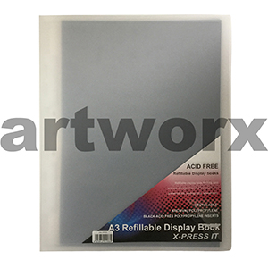 A3 X-Press It Refillable Clear Display Book