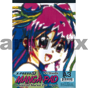 A3 X-Press Manga Pad 50 Sheets 70gsm