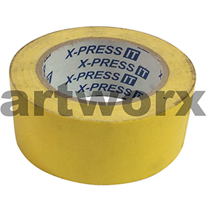 Yellow 48mmx25m Cloth Tape