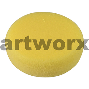Yellow Synthetic Art Sponges