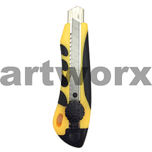 Yellow and Black Stanley Knife
