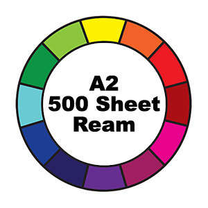 500 Sheet Ream A2 (420x595mm) Reams Prism Cover Paper
