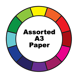 A3 Assorted Paper