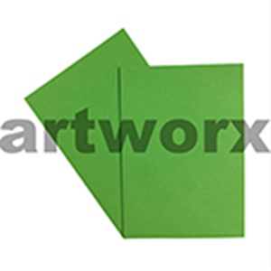 A4 Apple Green 270gsm 20 Sheets 100% Recycled Coloured Cardstock
