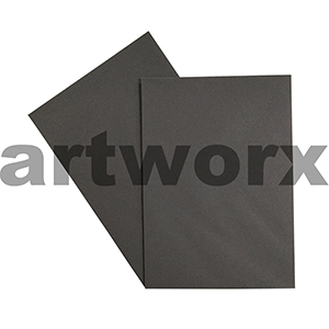 A4 Charcoal 270gsm 20 Sheets 100% Recycled Coloured Cardstock