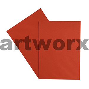 A4 Chili Red 270gsm 20 Sheets 100% Recycled Coloured Cardstock