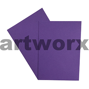 A4 Lavender 270gsm 20 Sheets 100% Recycled Coloured Cardstock