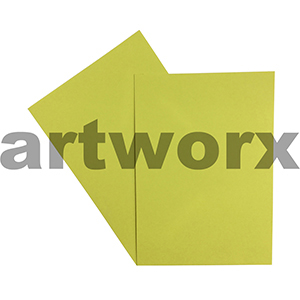 A4 Lemon 270gsm 20 Sheets 100% Recycled Coloured Cardstock