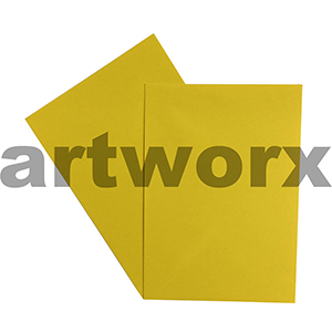 A4 Mellow Yellow 270gsm 20 Sheets 100% Recycled Coloured Cardstock