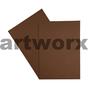 A4 Mocha 270gsm 20 Sheets 100% Recycled Coloured Cardstock
