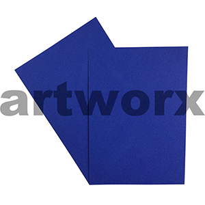 A4 Royal Blue 270gsm 20 Sheets 100% Recycled Coloured Cardstock