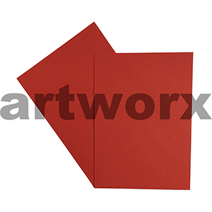 A4 Ruby 270gsm 20 Sheets 100% Recycled Coloured Cardstock
