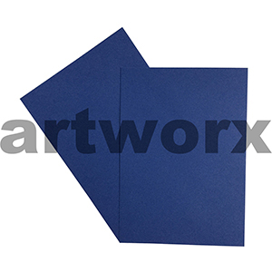 A4 Sapphire 270gsm 20 Sheets 100% Recycled Coloured Cardstock