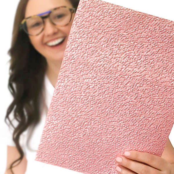 A4 Embossed Paper
