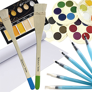 Abstract Watercolour Madness Kit