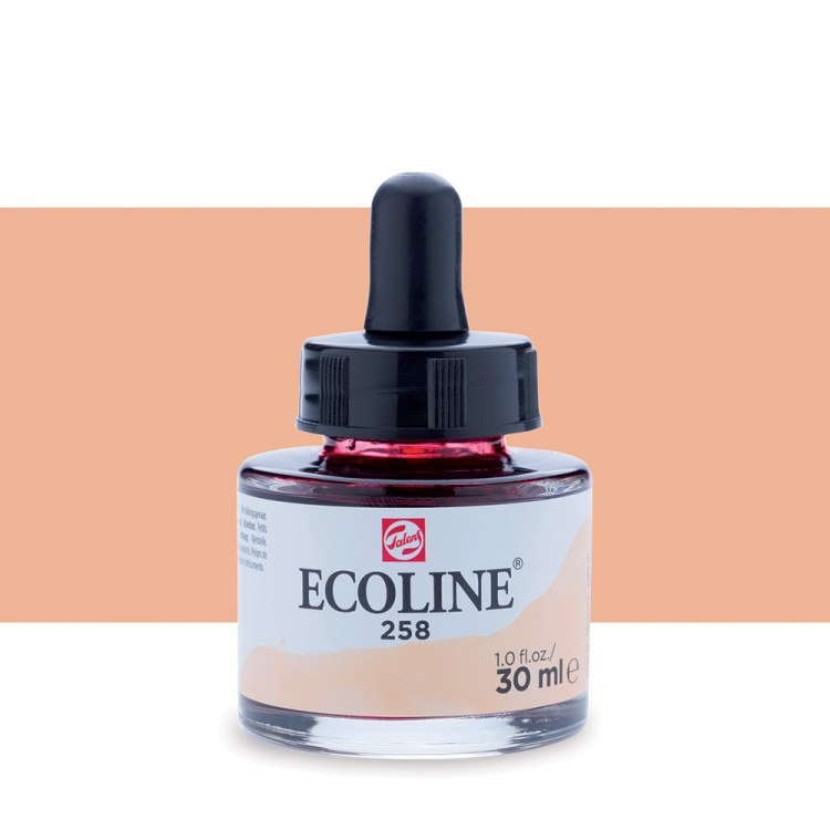 Apricot Talens Ecoline Ink 30ml