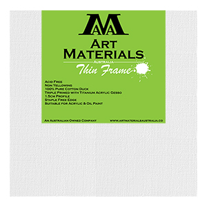 "10x10"" Thin Frame Art Materials Australia Canvas"