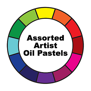 Assorted Artist Oil Pastels