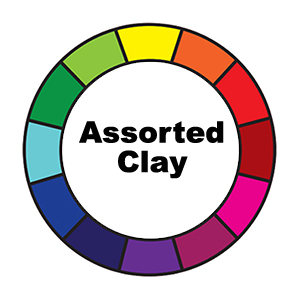 Assorted Clay