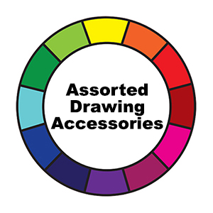 Assorted Drawing Accessories