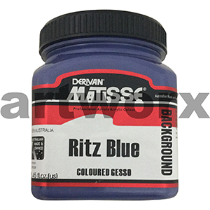 Ritz Blue 250ml Background Acrylic Matisse Paint