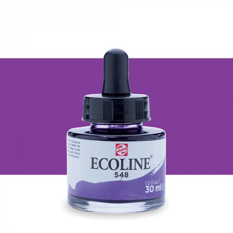 Blue Violet Talens Ecoline Ink 30ml
