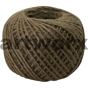 Natural Jute Twine String 3ply Approx 70g