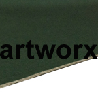 Green 760x1020mm Budget Mount Board