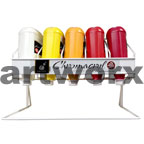 Chromacryl 2 litre Paint Bottle Rack - Holds 5