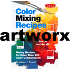 Colour Mixing Recipes for Oil & Acrylic Painting