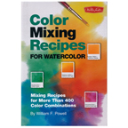 Colour Mixing Recipes for Watercolour Book by William F. Powell