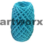 Plain Coloured Paper Twine 15m Aqua