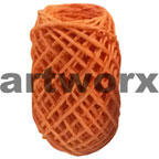 Plain Coloured Paper Twine 15m Orange