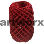 Plain Coloured Paper Twine 15m Red