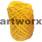 Plain Coloured Paper Twine 15m Yellow