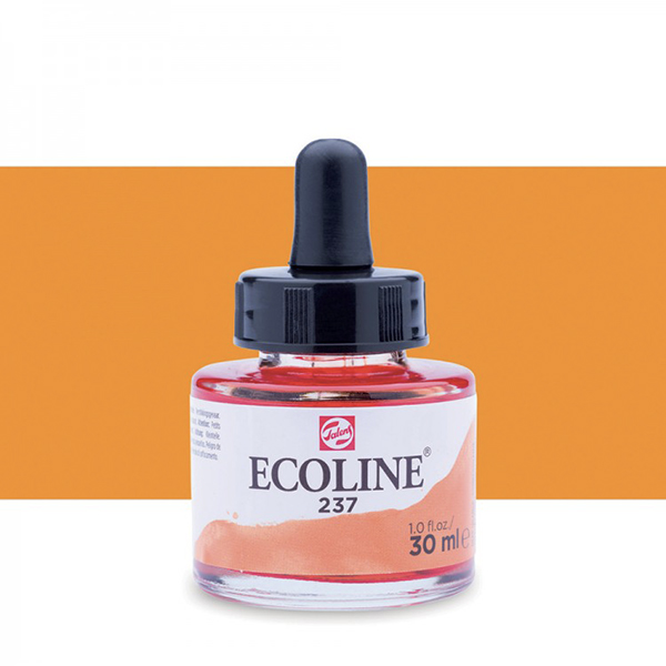 Deep Orange Talens Ecoline Ink 30ml