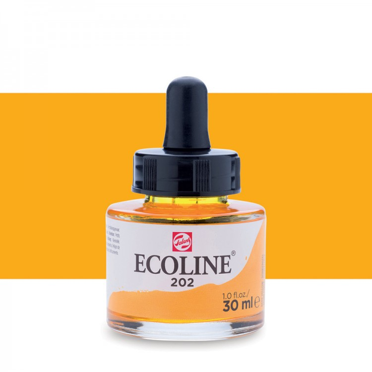 Deep Yellow Ecoline Ink 30ml