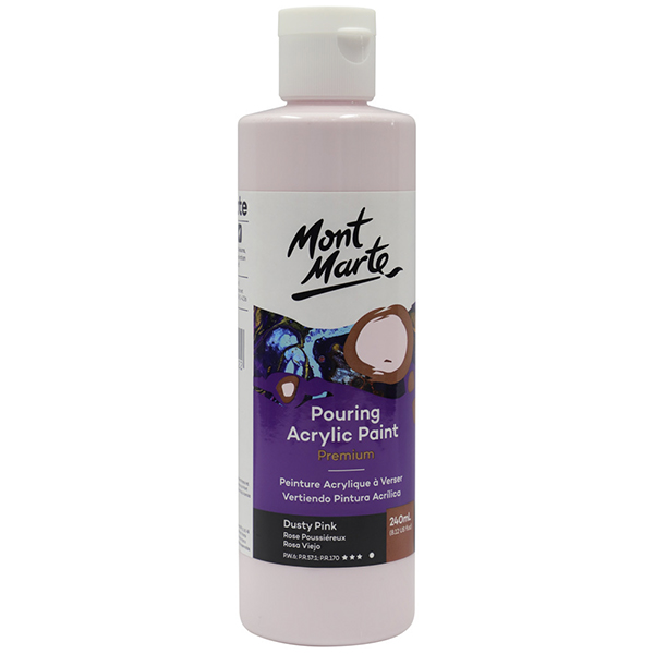 Dusty Pink Pouring Paint 240ml Mont Marte