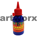 Dark Blue Fabric Paint 125ml EC
